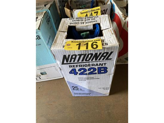 25LB CYLINDER OF NATIONAL 422A FREON