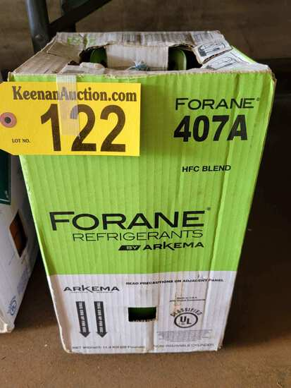25LB CYLINDER OF FORANE 407A FREON