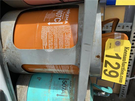 25LB CYLINDER OF 407C FREON