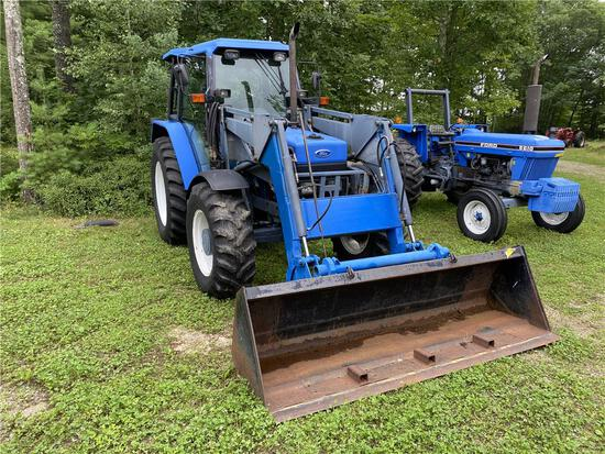 1993 FORD/NEW HOLLAND 6640 POWER STAR SLE 4WD TRACTOR