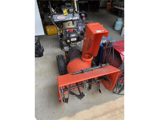 """ARIENS DELUXE 28 ELECTRIC START 28"""" SNOW BLOWER"""