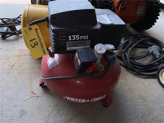 PORTER CABLE 2HP 6-GAL PORTABLE AIR COMPRESSOR
