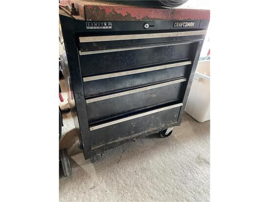 CRAFTSMAN 5-DRAWER TOOL CHEST ON CASTERS