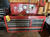 RED CRAFTSMAN 8-DRAWER TOOL CHEST & CONTENTS