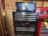 BLACK CRAFTSMAN 10-DRAWER TOOL CHEST & CONTENTS, HAS KEY