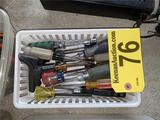 15-ASSORTED SCREW & NUT DRIVERS
