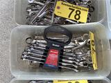 LOT: ASSORTED COMBINATION WRENCHES