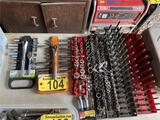 ASSORTED DEEP WELL SOCKETS & WRENCHES