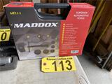 MADDOX MF11-1 11-PC DISC BRAKE PAD AND CALIPER SERVICE TOOL KIT