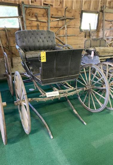 DOCTOR'S BUGGY MADE BY WADE & DUNTON CARRIAGE CO., LEWISTON MAINE