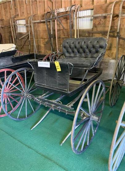 DOCTOR'S BUGGY MADE BY I.R. WRIGHT & SON, FARMINGTON & NORTH CHESTERVILLE MAINE