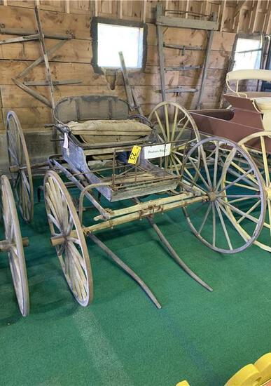 DOCTOR'S BUGGY MADE BY SPRING WAGON CO., WATERTOWN NEW YORK