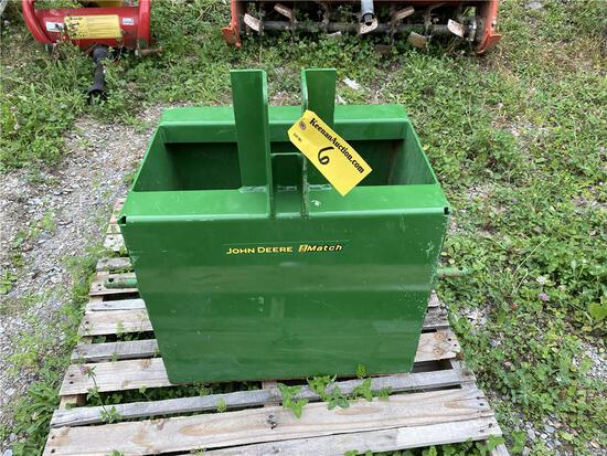 JOHN DEERE IMATCH WEIGHT BOX