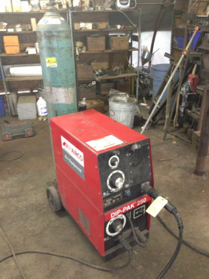 airco dip pak 250 welder 1ph auctions online proxibid rh proxibid com Esab Dip Pak 250 Airco Airco Dip Pak 200 Manual