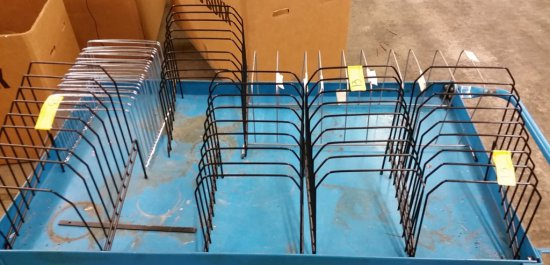 LOT OF OVER 40 WIRE PAPER SORTERS / ORGANIZERS