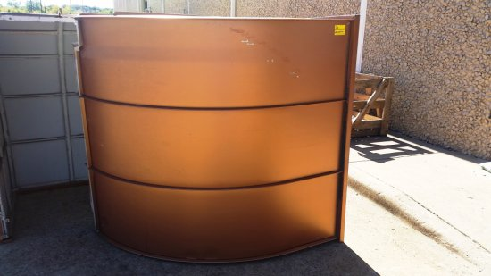 METAL AWNING - BRONZE OR COPPER COLOR