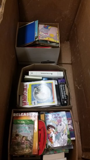 LOT OF APPROX. 180 BOOKS