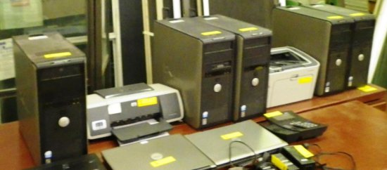 LOT OF COMPUTERS AND PRINTERS