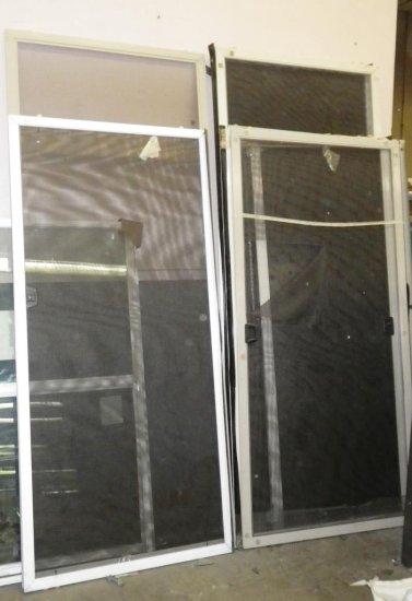 LOT OF 22 SCREEN DOORS FOR SLIDING GLASS DOOR