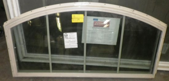 KRESTMARK BEIGE SERIES 200 ARCHED VIINYL WINDOW