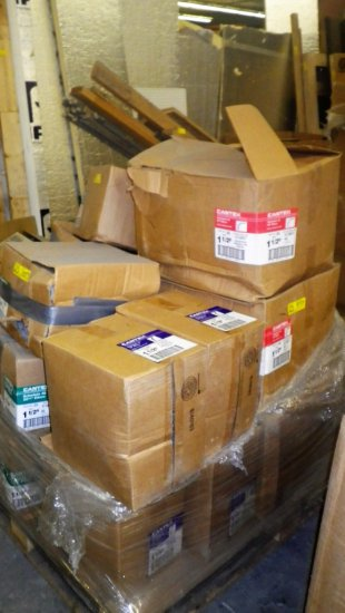 PALLET OF CANTEX HARDWARE