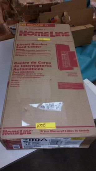 NEW SQUARE D 06127 CIRCUIT BREAKER LOAD CENTER IN THE BOX