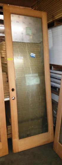 NEW ROGUE VALLEY WOOD DOOR WITH SUNGATE 500 LOW E GLASS