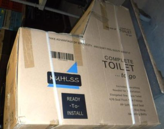 NEW, IN THE BOX KUHLSS TOILET