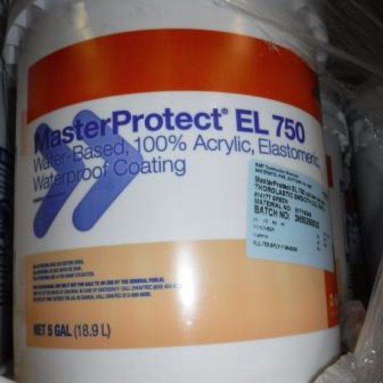 LOT OF 4 BUCKETS - 5 GALLONS EACH: MASTER PROTECT EL 750