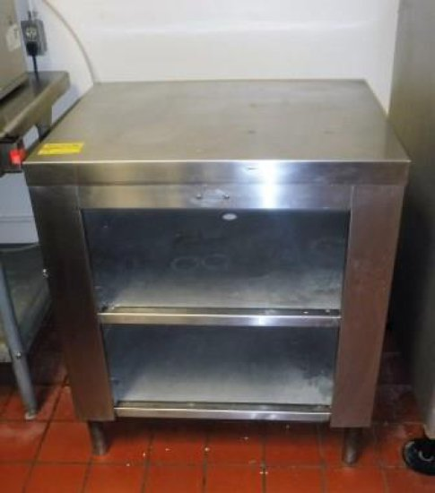 STAINLESS STEEL SHELF UNIT