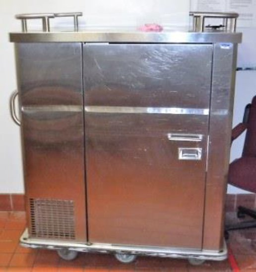 CRIMSCO HOT AND COLD FOOD SERVICE DELIVERY / CATERING CART