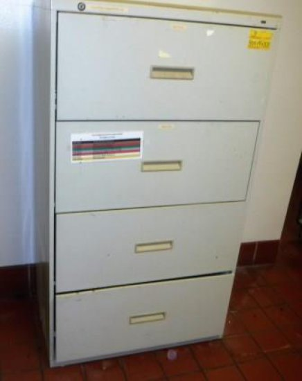 LATERAL FILE, DESK AND PRINTER TABLE