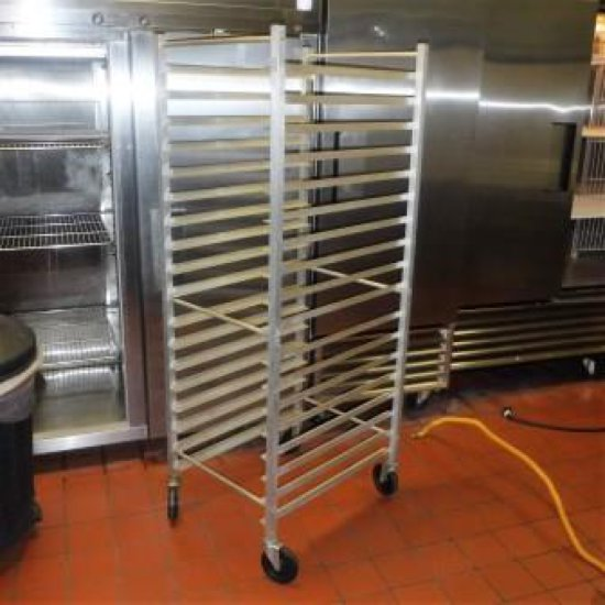 ROLLING BAKERS RACK / SHEET PAN RACK BY ADVANCED TABCO