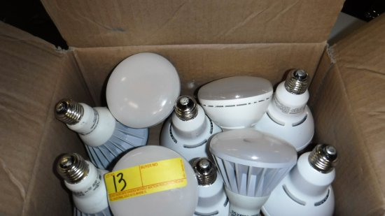 LOT OF 29 SYLVANIA LED FLOODLIGHT BULBS