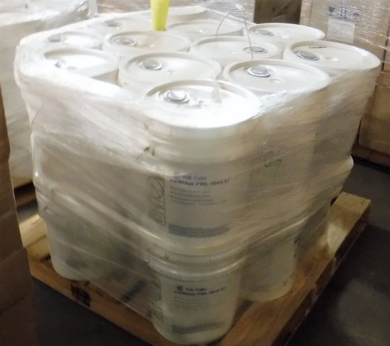 1 Pallet & Partial Pallet - 30 Buckets of H.B. Fuller swifttak PWL-5044-X1