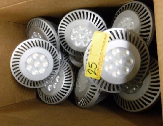 LOT OF 17 GE LED FLOODLIGHT BULBS