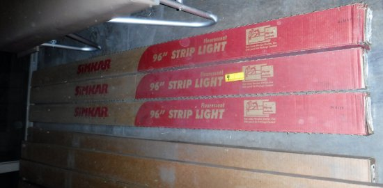 Lot of 14 New in the Box Flourescent Fixtures