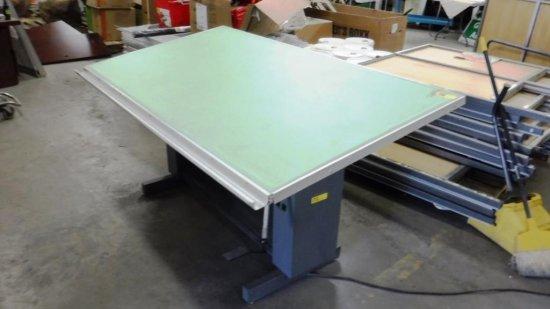 VYCO DIAL-A-TORQUE DRAFTING TABLE