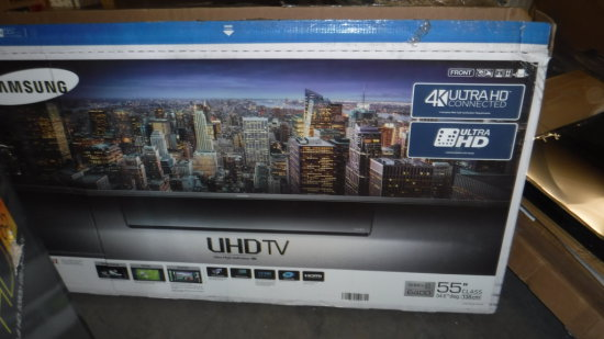 """NEW SAMSUNG 55"""" 4K ULTRA UHDTV FOR PARTS OR REPAIR"""