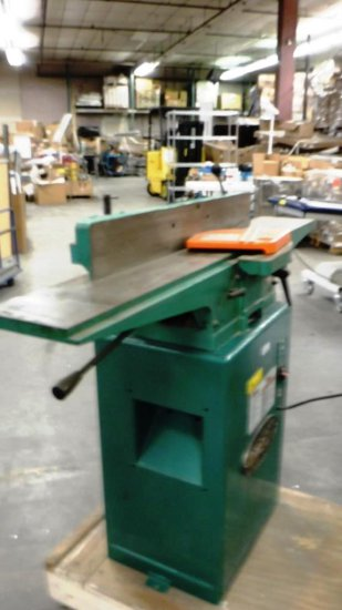 """GRIZZLY 6"""" JOINTER ON STAND"""