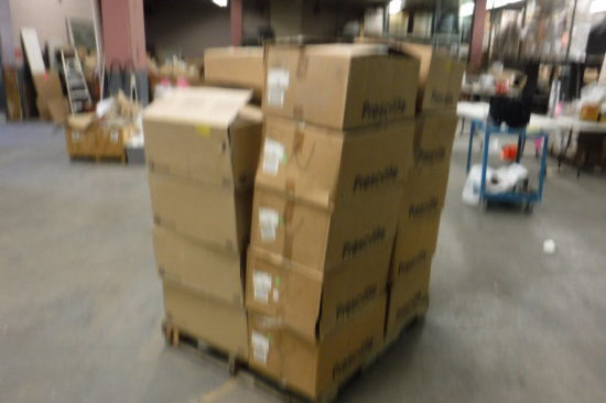 PALLET OF HUBBELL COMMERCIAL LIGHTING HARDWARE