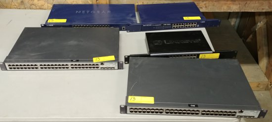 Lot Of 5 Networking Equipment Hardware Units