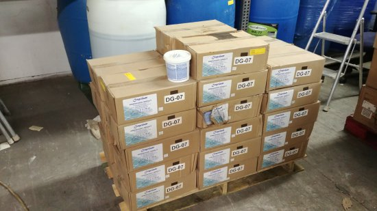 32 Boxes Of Congoleum Premixed Grout - 6 Qts Ea.