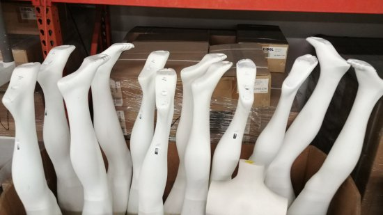 Lot Of Mannequin Legs And Torso