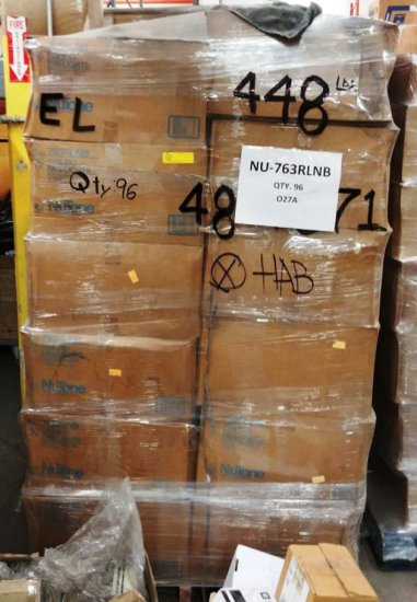 Pallet Of Nutone 763rlnb Ceiling Fan Lights / Housings