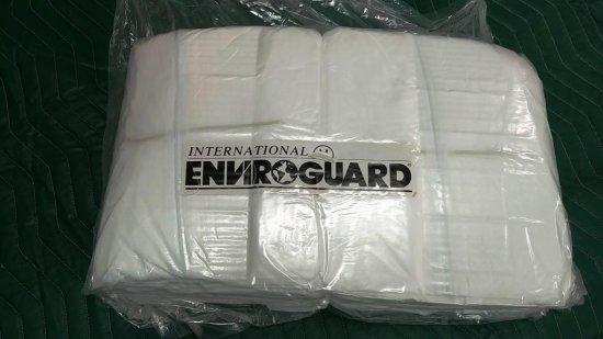 LOT OF 2 NEW BOXES OF ENVIROGUARD MEDIUM COVERALLS