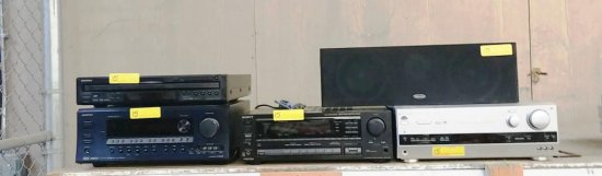 LOT OF A/V EQUIPMENT