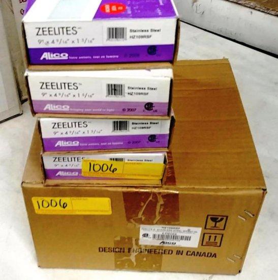10 BOXES STAINLESS STEEL XENON ZEELITES