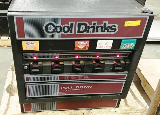 """COOL DRINKS"" VENDING MACHINE MODEL UCR-5-125"