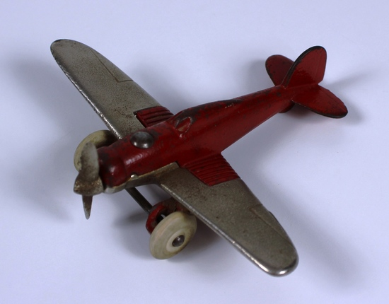 VINTAGE HUBLEY CAST IRON AIRPLANE 2197